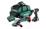 METABO Combo set BS 18 LT + W 18 LTX 125 Quick 691109000
